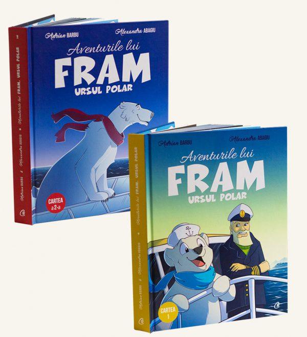Fram pachet dublu carti volumul I si II