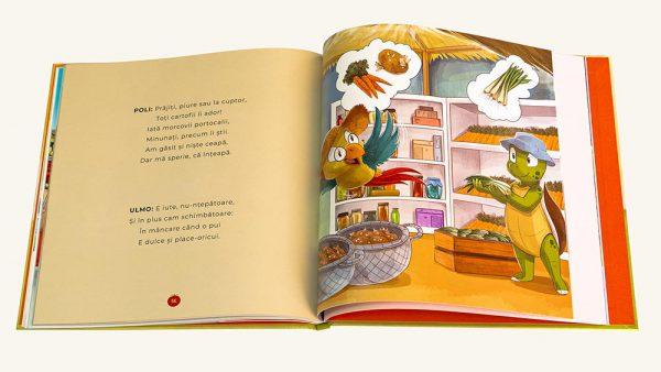 Invatam Fructele si legumele - carte de copii