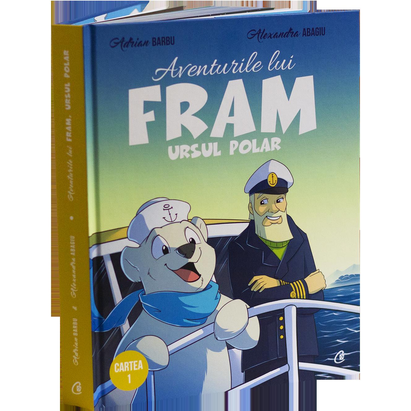Fram ursul polar cartea 1 carte pentru copii cu ilustratii color