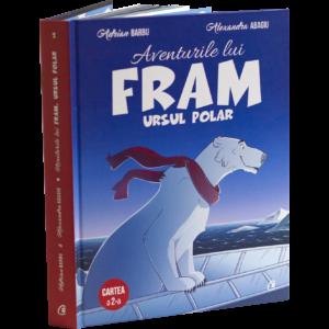 Fram ursul polar cartea 2 carte pentru copii cu ilustratii color