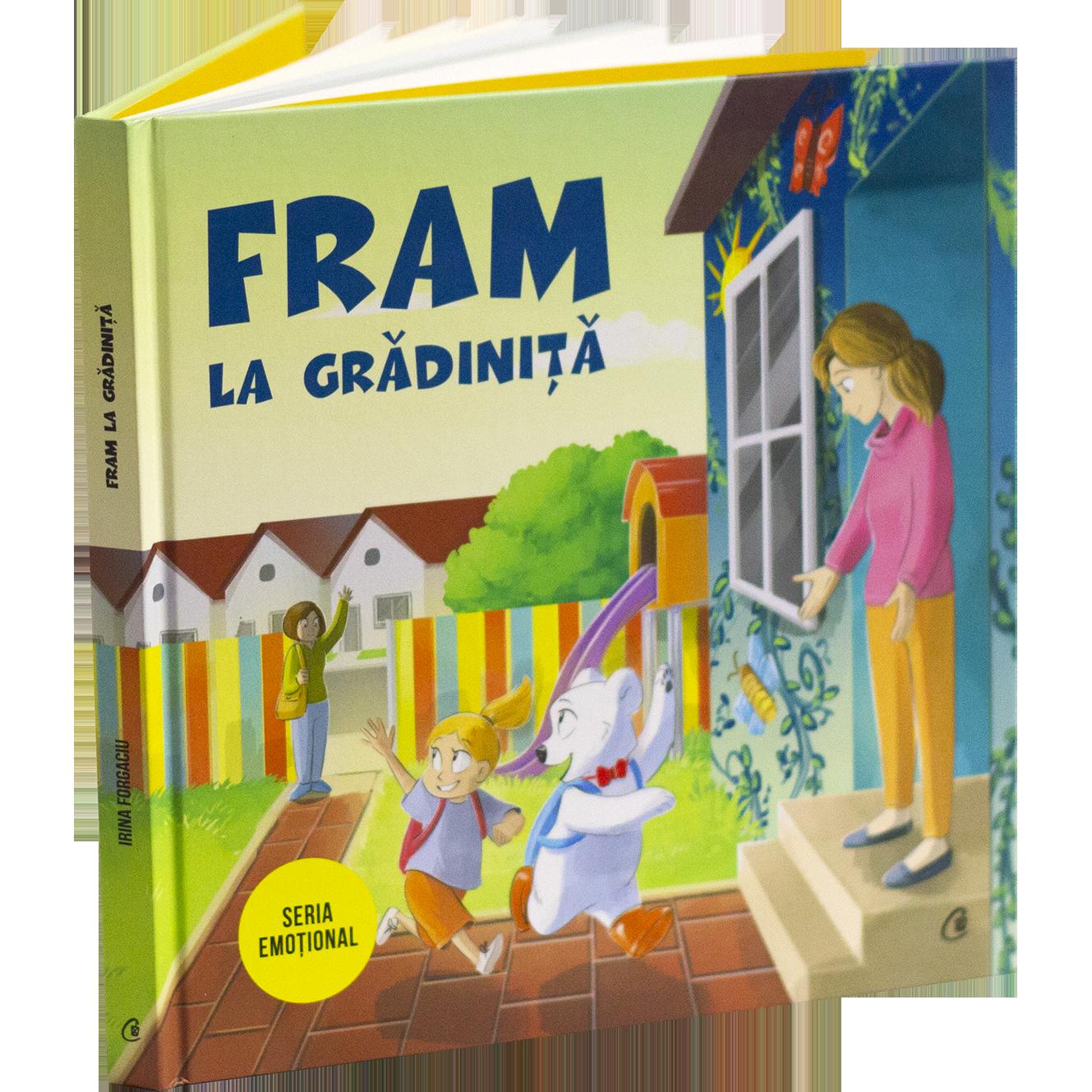 Cartea adaptare la gradinita - Fram ursul polar - carte pentru copii