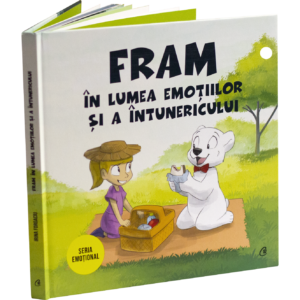 Fram in lumea emotiilor si a intunericului carte pentru copii