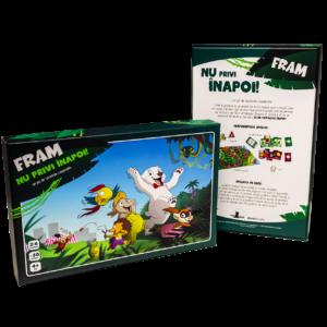 Fram ursul polar joc pentru copii de colaborare board game
