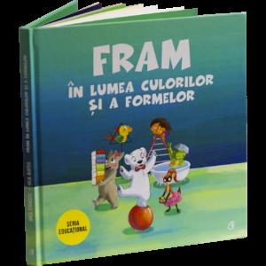 Fram ursul polar cartea culori si forme gemoterice pentru copii