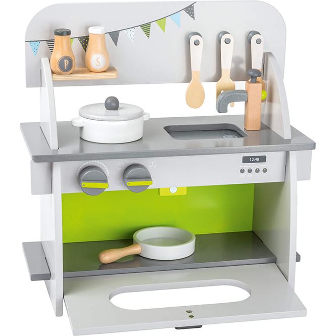 """Bucătărie de lemn """"Bucătărașul vesel"""""""