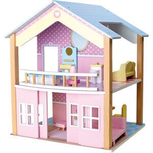 """ăsuță cu etaj """"Paradisul păpușilor"""" - jucarie pentru copii"""